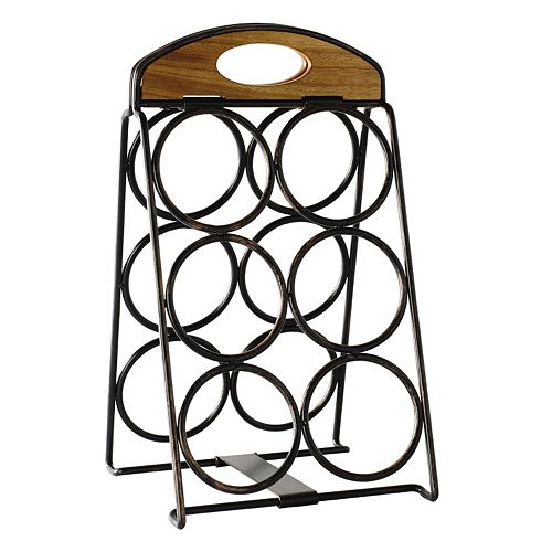 Mikasa Gourmet Basics 6-Bottle Wine Rack