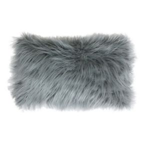 Thro by Marlo Lorenz Keller Faux Fur Oblong Throw Pillow