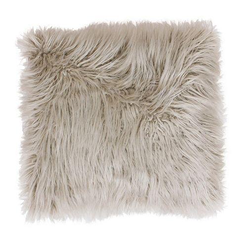 Thro by Marlo Lorenz Keller Faux Fur Throw Pillow