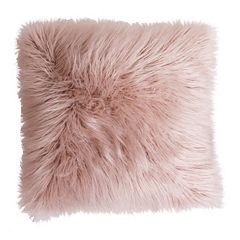 Thro by Marlo Lorenz Keller Faux Fur Throw Pillow