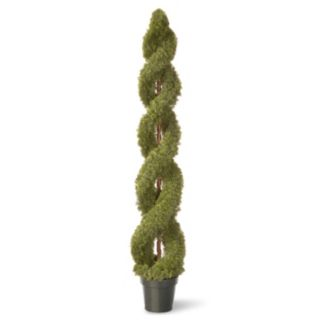 "National Tree Company 72"" Artificial Double Cedar Spiral Plant"