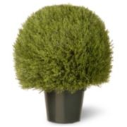 "National Tree Company 24"" Artificial Cedar Bush Plant"