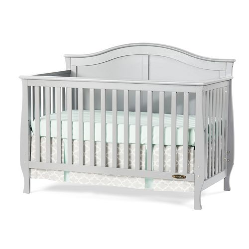 Child Craft Camden  In  Convertible Crib Cool Gray
