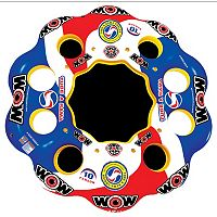WOW Sports Tubearama 10-Person Inflatable Island Water Float