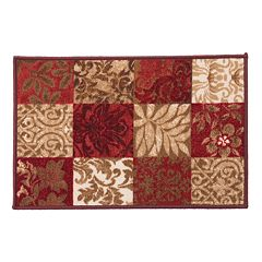 Madison Venice Floral Patchwork Rug