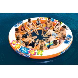 WOW Sports 12-Person Stadium Islander Water Float