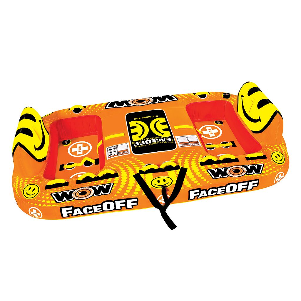 WOW Sports Faceoff 4-Person Towable Water Float