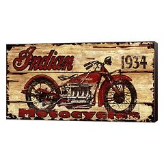 Metaverse Art 'Indian Motorcycles' Canvas Wall Art