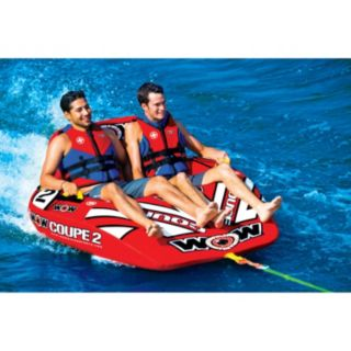 WOW Sports 2-Person Coupe Cockpit Towable Water Float