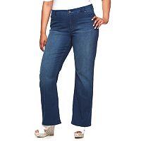 Plus Size Jennifer Lopez Curvy Fit Bootcut Jeans
