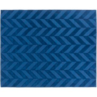Surya Central Park Carrie Chevron Wool Rug