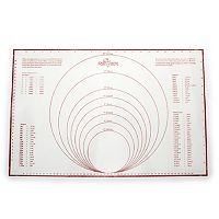 Fox Run Pastry Mat with Measurements