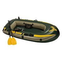 Intex Seahawk 2 Lake Boat 2-Person Inflatable Raft