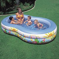Intex Swim Center Paradise Seaside Inflatable Pool
