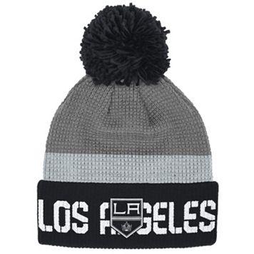 Adult Reebok Los Angeles Kings Cuffed Pom Knit Hat