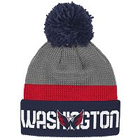 Adult Reebok Washington Capitals Cuffed Pom Knit Hat