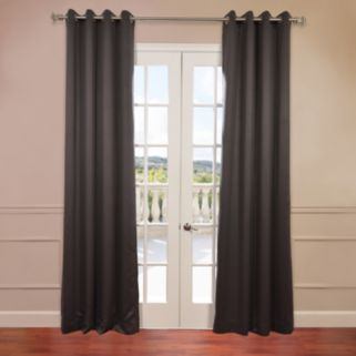 EFF 2-pack Solid Blackout Window Curtain
