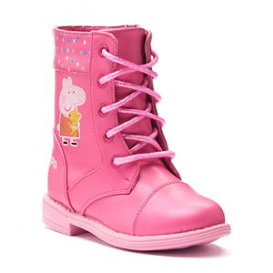 Peppa Pig Toddler Girls' Combat Boots