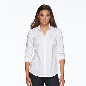 Women\'s Apt. 9® Essential Wrinkle-Resistant Shirt