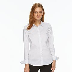 Women's Apt. 9® Essential Wrinkle-Resistant Shirt