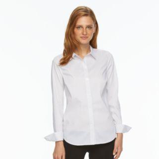 Women's Apt. 9® Essential Wrinkle-Resistant Shirt