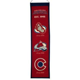 Colorado Avalanche Heritage Banner