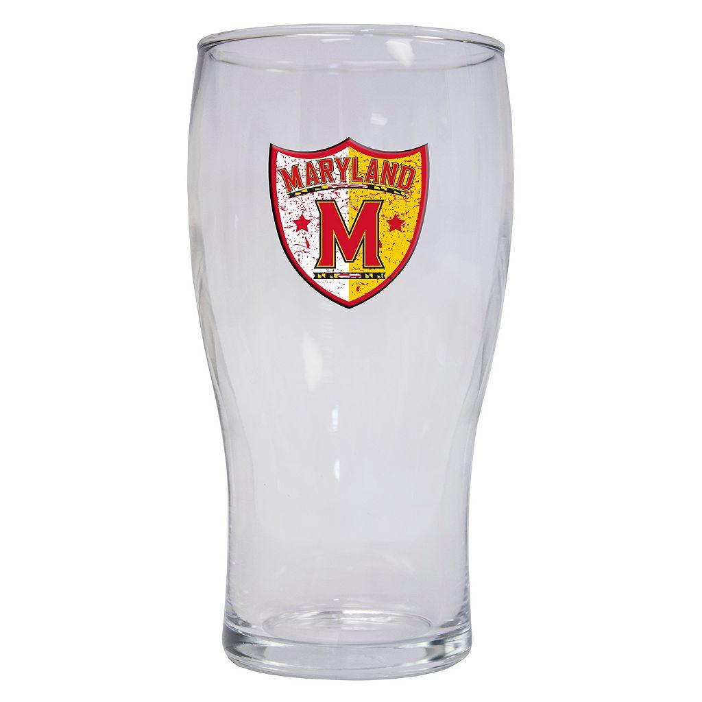 Maryland Terrapins 2-Pack Pilsner Glass Set