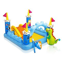 Intex Fantasy Castle Play Center Inflatable Kiddie Pool