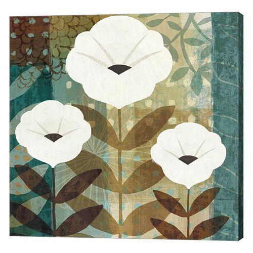 Metaverse Art Floral Dream I Canvas Wall Art