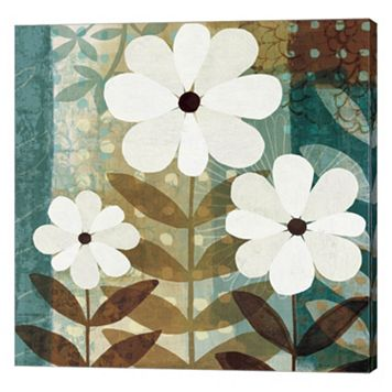 Metaverse Art Floral Dream II Canvas Wall Art
