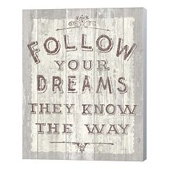 Metaverse Art 'Follow Your Dreams' Canvas Wall Art