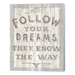 "Metaverse Art ""Follow Your Dreams"" Canvas Wall Art"