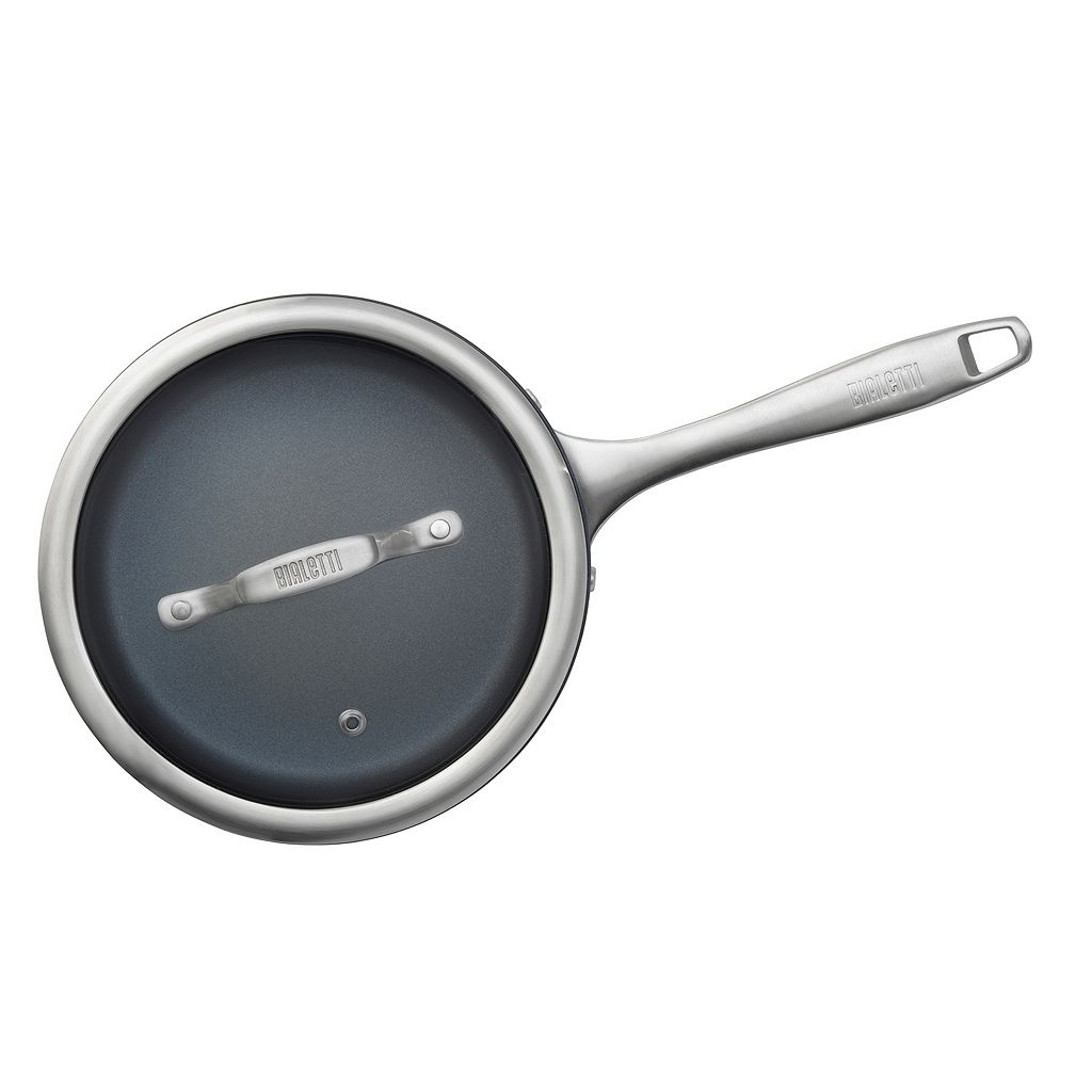 Bialetti Sapphire 2-qt. Nonstick Covered Sauce Pan