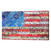 Metaverse Art US American Flag Canvas Wall Art