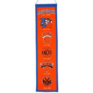 New York Knicks Heritage Banner