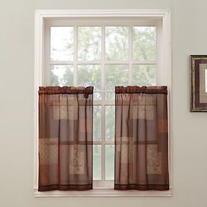 Eden 2-pack Tier Curtains