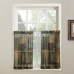 Green Kitchen Curtains & Drapes - Home Decor | Kohl\'s
