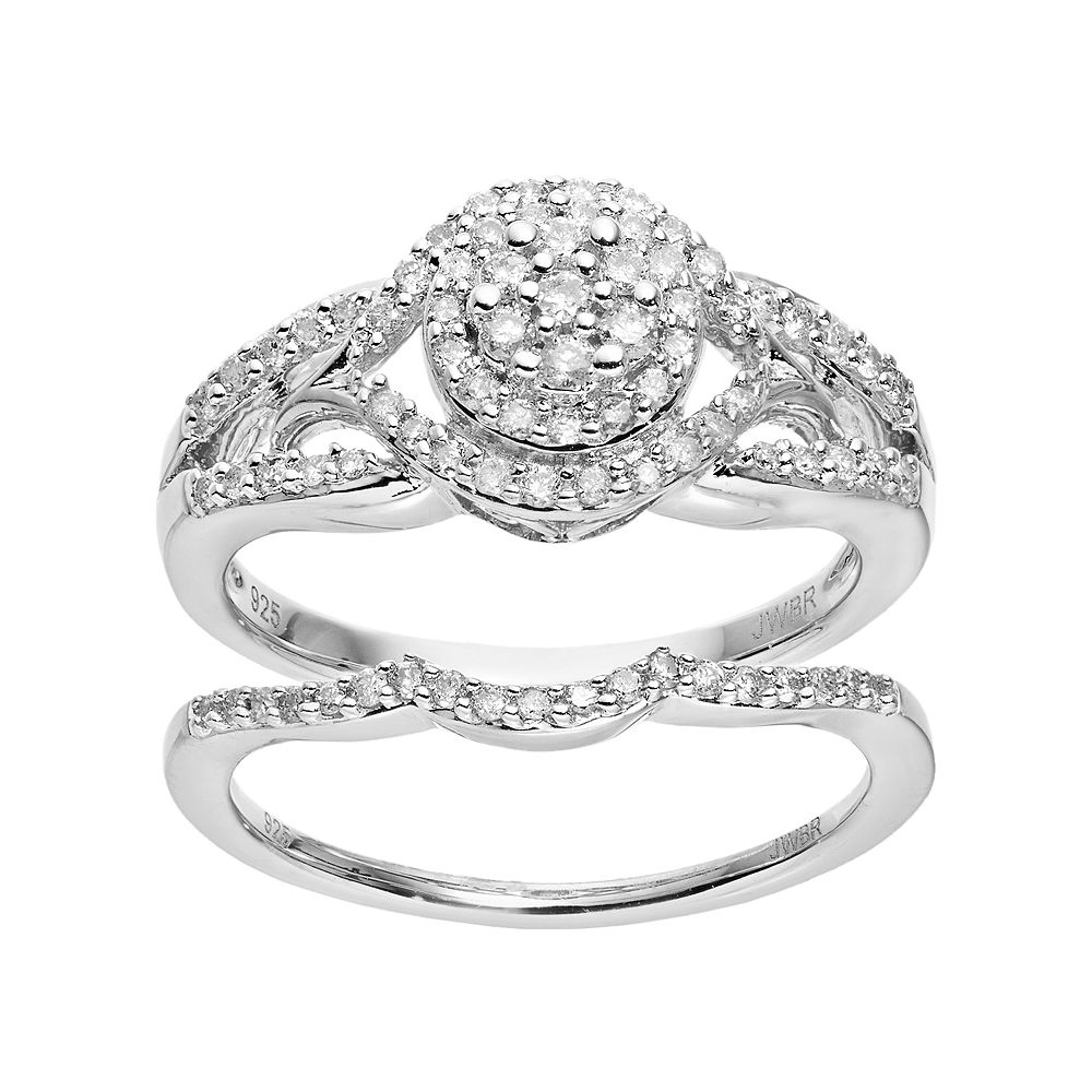ring engagement diamonds rings sterling in with silver