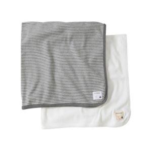 Burt's Bees Baby 2-pk. Baby Neutral Organic Baby Blankets