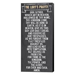 Metaverse Art The Lord's Prayer Canvas Wall Art