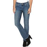 Petite Apt. 9® Modern Fit Embellished Bootcut Jeans