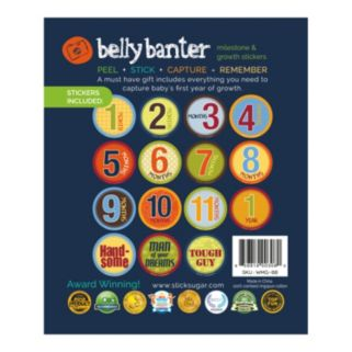 Belly Banter Watch Me Grow Baby Boy Gift Set by Slick Sugar