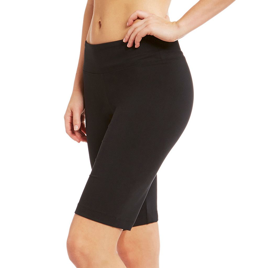 Women's Balance Collection Fitted Bermuda Workout Shorts