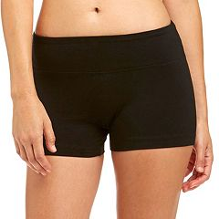 Women's Bally Total Fitness Flat Waist Yoga Hot Shorts