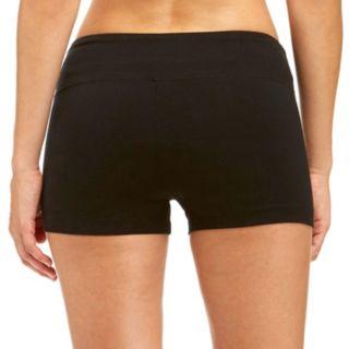 Women's Bally Total Fitness Flat Waist Yoga Hot Shorts