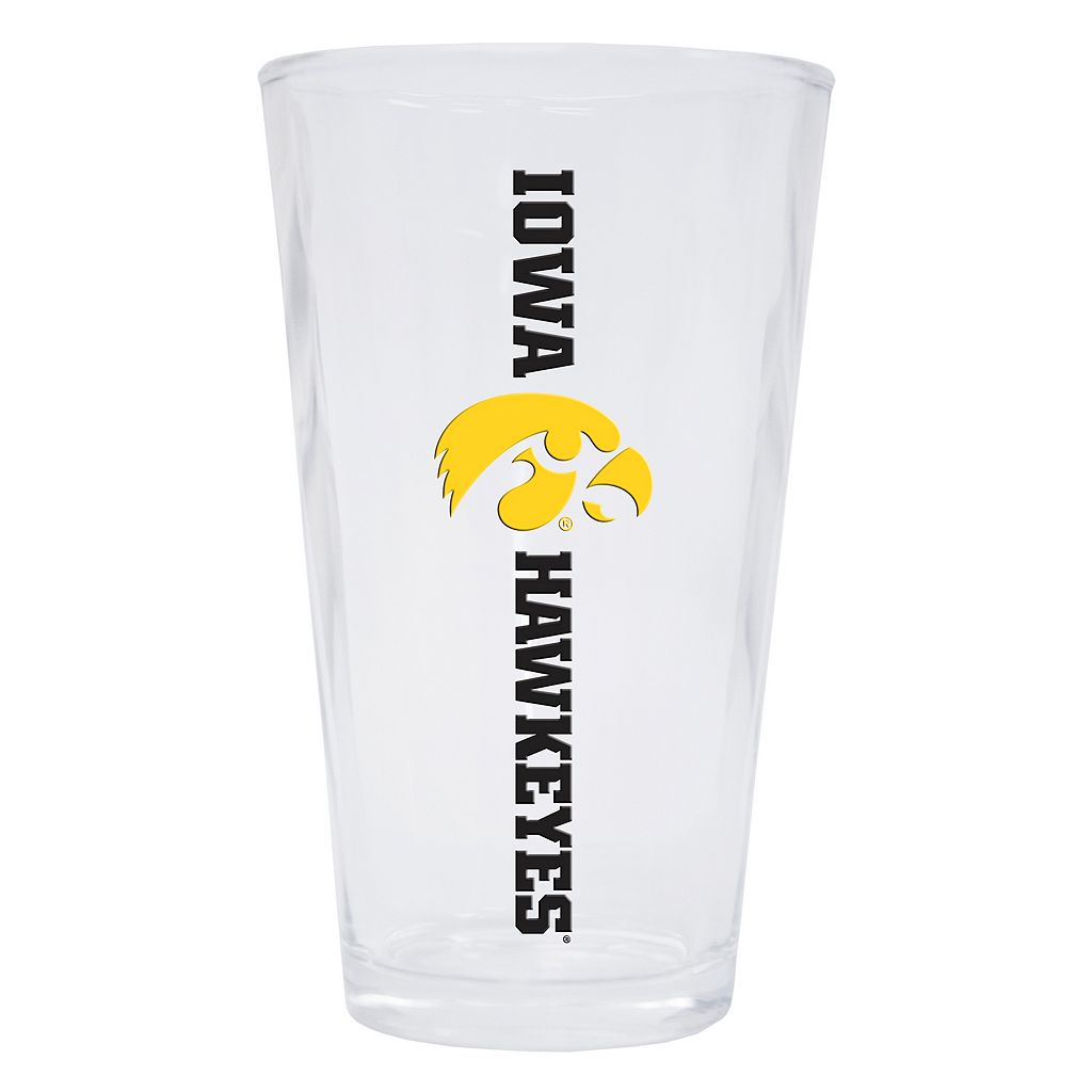Iowa Hawkeyes 2-Pack Pint Glass Set