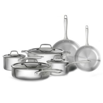 Bialetti Triply 10-pc. Nonstick Cookware Set