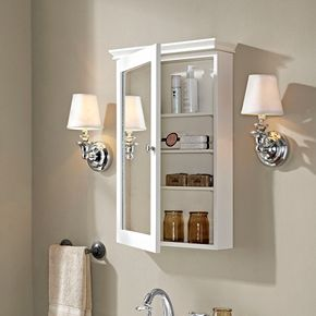 Lydia Mirrored Wall Cabinet