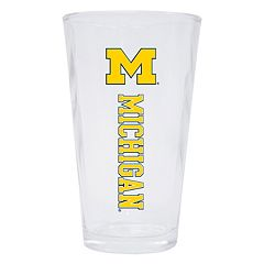 Michigan Wolverines 2-Pack Pint Glass Set