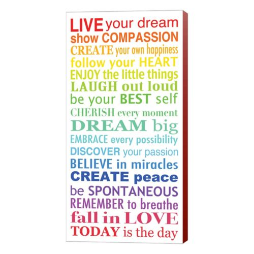Metaverse Art Live Your Dream 3 Canvas Wall Art